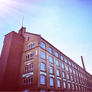 Aussenansicht der BDK GmbH Produktionshallen in Berlin
